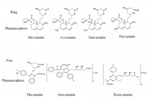 Figure 3. Chemical structure of statins4.